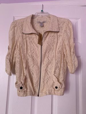 White Floral Jacket for Sale in Miami Lakes, FL