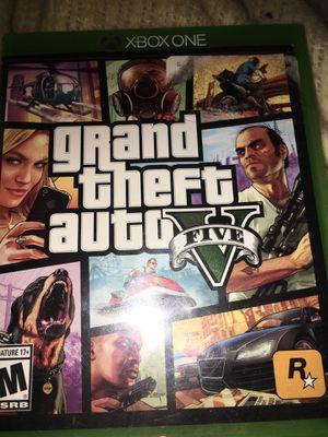 GTA V Xbox 1 sale or trade for Sale in Oregon City, OR