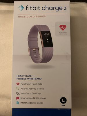 Fitbit charge 2 limited edition rose gold for Sale in Bakersfield, CA