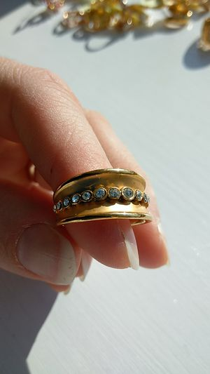 Size 7 gold filled ring for Sale in Eagleville, PA