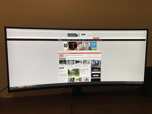 Dell UltraSharp 38 Curved Monitor - U3818DW for Sale in Hockley, TX