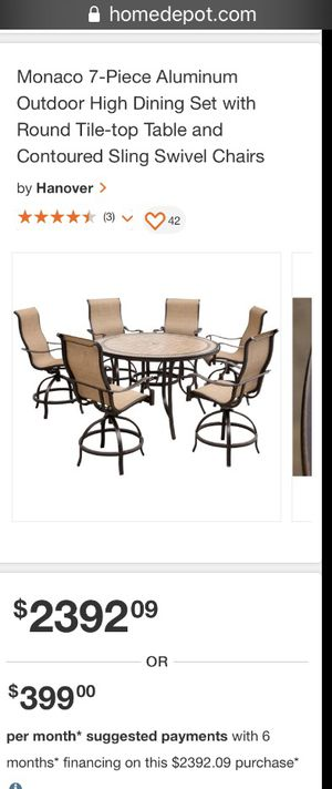 Patio furniture for Sale in Midlothian, TX