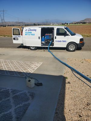 we start from 2010 we use truck mount for carpets cleaneds for Sale in Riverside, CA