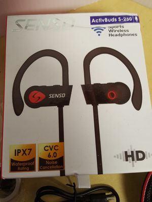 Senso Activbuds s-250 Bluetooth Headphones for Sale in Boulder, CO
