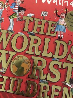 Book By David Walliams, The Worlds Worst Children for Sale in Woodinville,  WA