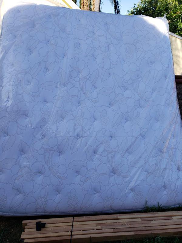 $300 OBO: King Sleigh Bed, Mattress, 4 underbed drawers, Ikea corner desk, chair, bookcase