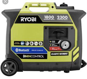 Ryobi Bluetooth 2,300-Watt Generator for Sale in Atlanta, GA