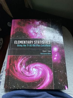 Elementary statistics textbook for Sale in San Diego, CA