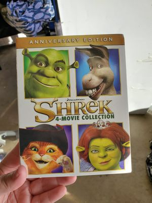 Shrek movie collection for Sale in Moreno Valley, CA