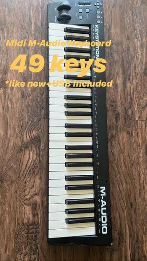 Midi M Audio keyboard, 49 keys for Sale in View Park-Windsor Hills, CA