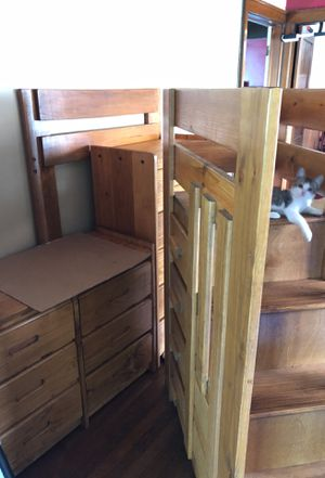 Bunk bed and dresser sets, beds are included for Sale in Detroit, MI