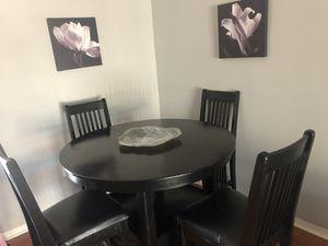 Black Dining Room Set for Sale in Pembroke Pines, FL
