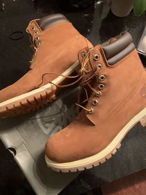 Rust Nubuck Timberland Boots (Size 10) for Sale in Washington, DC