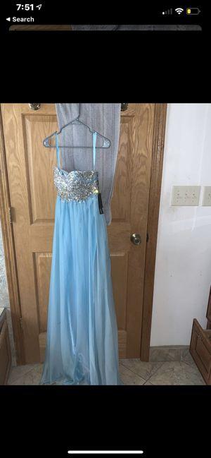Baby blue prom dress for Sale in Kenosha, WI