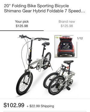 Folding bike / sporting bicycle for Sale in Philadelphia, PA