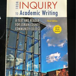 From Inquiry To Academic Writing for Sale in Sheffield Lake,  OH
