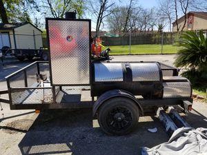 Smoker trailer for Sale in Houston, TX