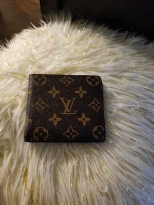 Brown monogram wallet for Sale in Norcross, GA