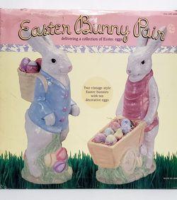 Large Ceramic Easter Bunny Set for Sale in Bunker Hill,  WV
