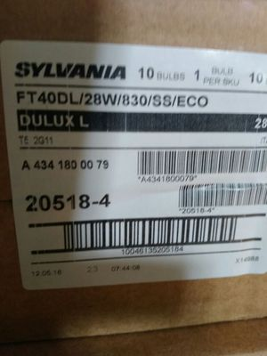 Sylvania Ft40dl/28w/830/ss/eco for Sale in Salt Lake City, UT