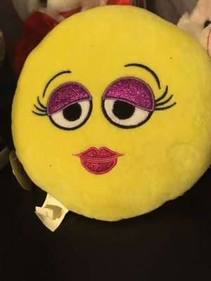 Two face Emoji plushy for Sale in Houston, TX