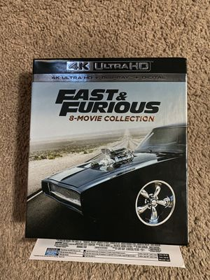 4k Fast & Furios Collection (Digital Movies) for Sale in Fairfield, CA