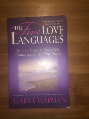 The five love languages book by Gary Chapman for Sale in Phoenix, AZ