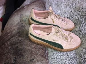 Pink Rihanna puma creepers for Sale in Portland, OR