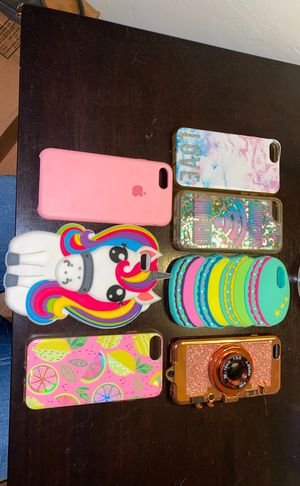 9 iPhone cases for iPhone 6, 6s and 7 for Sale in Imperial Beach, CA