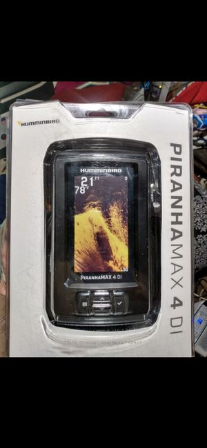 NIB Piranha Max 4DI Sonor/Fish finder for Sale in Alton, IL