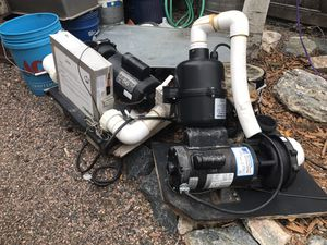 Hot tub pumps and cover for Sale in Thornton, CO
