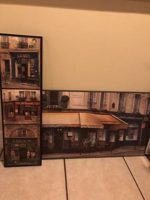 Kitchen decor/paintings for Sale in Pittsburgh, PA