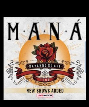 Maná tickets for Sale in San Jose, CA