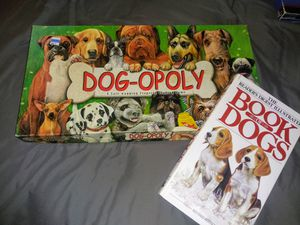 DOG-OPOLY Board game with Book of Dogs for Sale in Phoenix, AZ