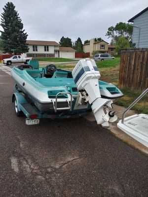 2001 19 ft Cajun 1900 bass boat rare for Sale in Parker, CO