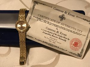 Beautiful. Jam rose & Koss goldtone watch and bracelet for Sale in Pittsburgh, PA