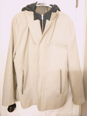 ZARA men's XL jacket with removable hoodie for Sale in Denver, CO