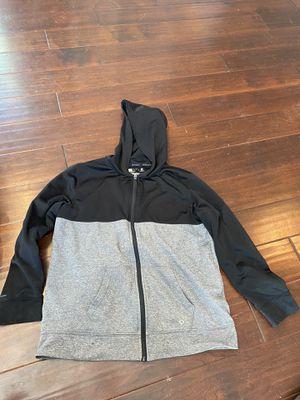 Xersion jacket hooded hoodie black grey gray for Sale in Phoenix, AZ