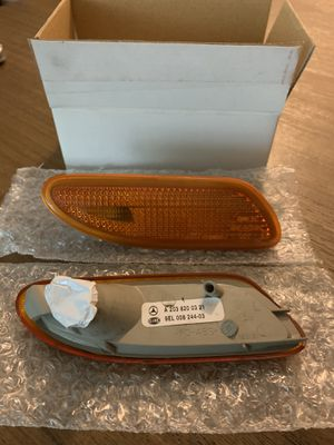 Mercedes Benz amber side markers - genuine OE parts for Sale in Puyallup, WA