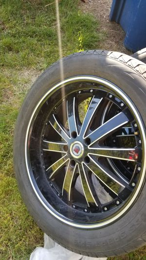 Selling my tires and wheels size 20 RS for Sale in Seattle, WA