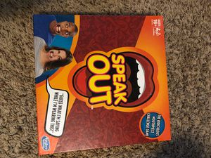 Speak Out Board game for Sale in Cottage Grove, MN