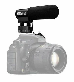 Camera Microphone,Emiral Interview Microphone,Shotgun Video Microphone for DSLR Camera/DV Camcorder for Sale in Alta Loma, CA