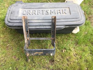 Craftsman lawn tractor tool box for Sale in Oakdale, CA