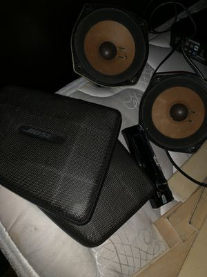 Bose car speakers for Sale in Hyattsville, MD