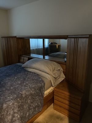 Full Bed, Mattress & Frame w/Drawers for Sale in Elk Grove, CA