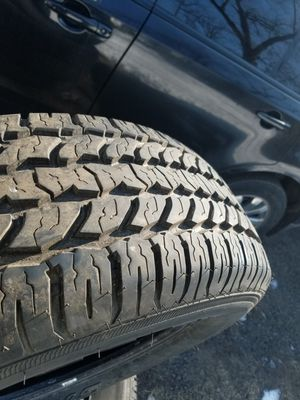 225/70/16 set of 4 not even 100 miles on them put them on and the SUV blew up for Sale in Three Rivers, MI