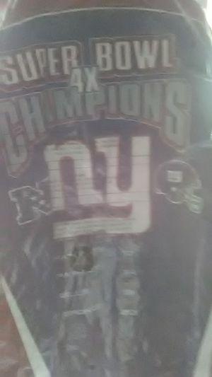 Super bowl NY Giants coat for Sale in Soperton, GA