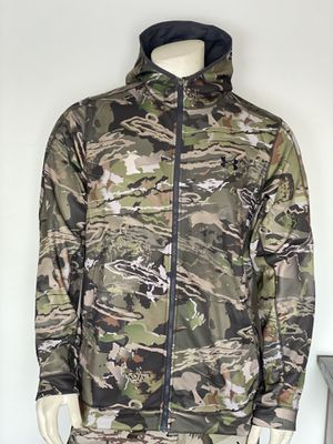 Under Armour Ridge Reaper Camo hoody jacket size XL for Sale in Elk Grove Village, IL