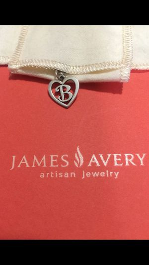 Retired James Avery Love ❤️ Name Initial B for Sale in Houston, TX