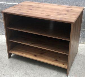 Pine 2-Shelf Media Cabinet - Bargain Buy for Sale in Philadelphia, PA
